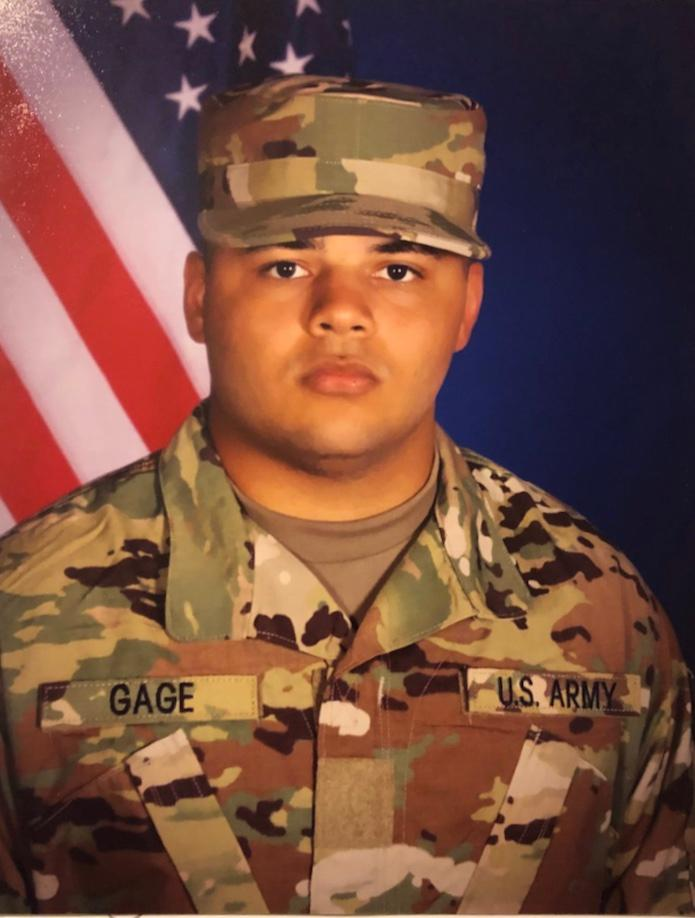 Private First Class Daniell Gage