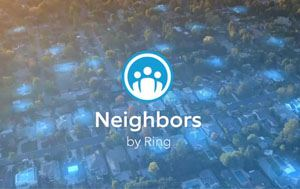 Neighbors by Ring doorbell graphic