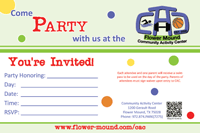 Birthday Party Invite 2