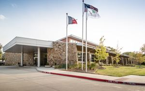 photo of entrance to Flower Mound Senior Center