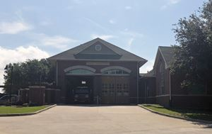 photo of the outside building of Flower Mound Fire Station No. 3