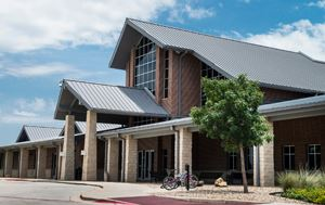 photo of the outside building of the Flower Mound Community Activity Center