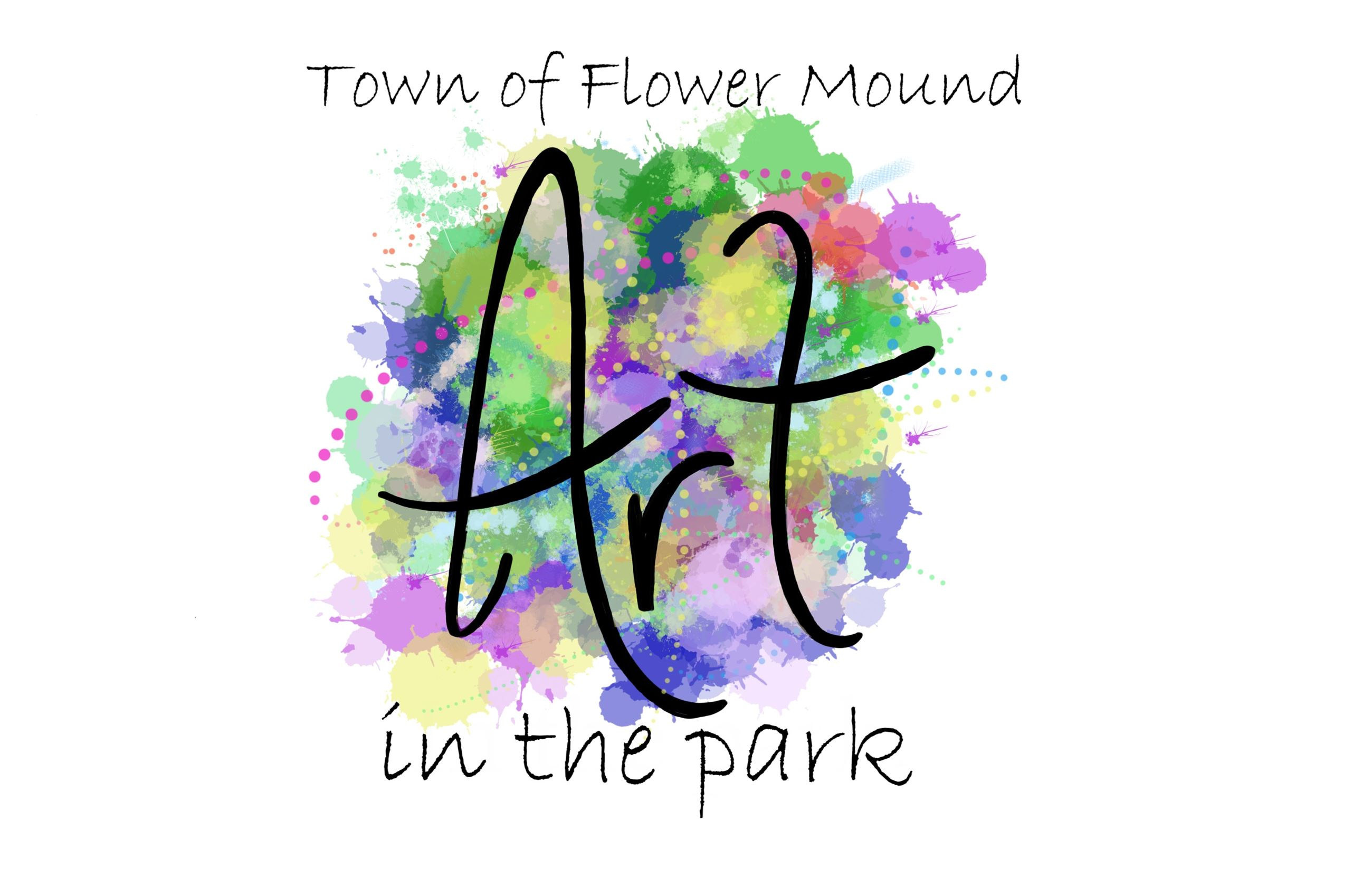 art in the park logo TOFM