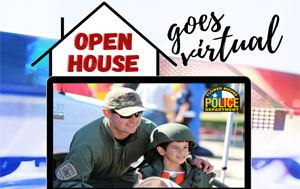 Virtual Flower Mound Police Department Open House graphic