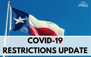 COVID-19 Restrictions Update graphic